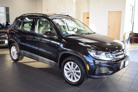 2017 Volkswagen Tiguan for sale at BMW OF NEWPORT in Middletown RI