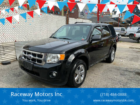 2011 Ford Escape for sale at Raceway Motors Inc in Brooklyn NY