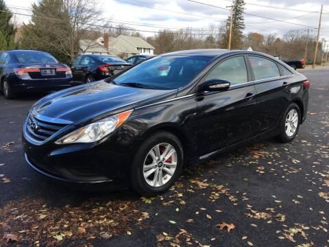 2014 Hyundai Sonata for sale at Delafield Motors in Glenville NY