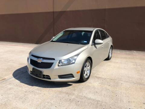2013 Chevrolet Cruze for sale at ALL STAR MOTORS INC in Houston TX