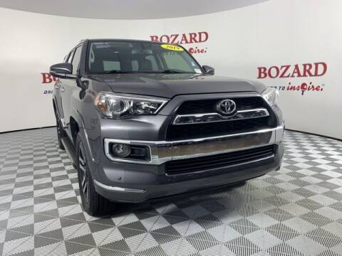 2019 Toyota 4Runner for sale at BOZARD FORD in Saint Augustine FL