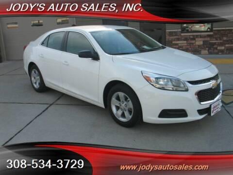 2014 Chevrolet Malibu for sale at Jody's Auto Sales in North Platte NE