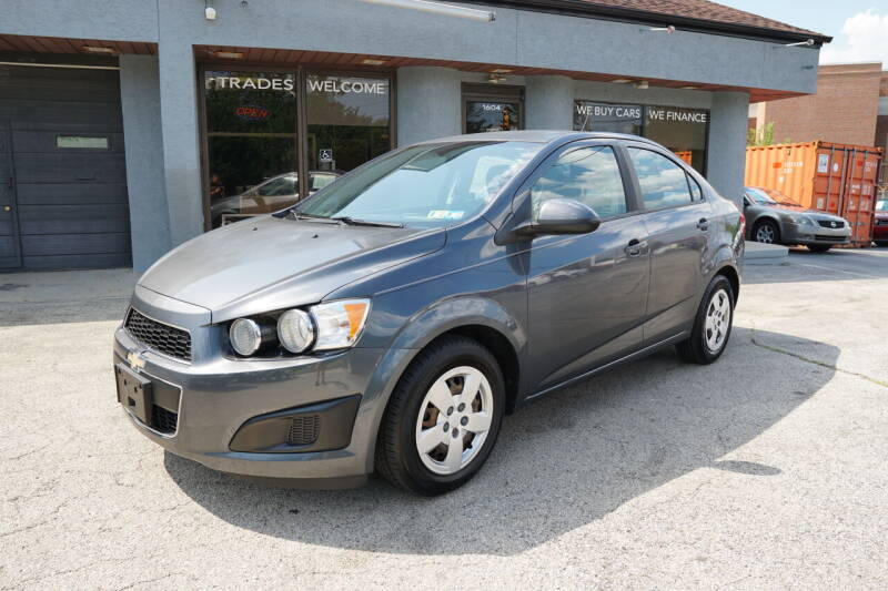 2013 Chevrolet Sonic for sale at PA Motorcars in Conshohocken PA