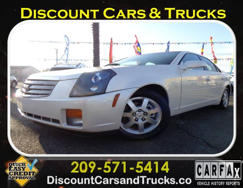 2005 Cadillac CTS for sale at Discount Cars & Trucks in Modesto CA