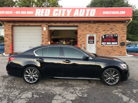 2014 Lexus GS 350 for sale at Red City  Auto in Omaha NE