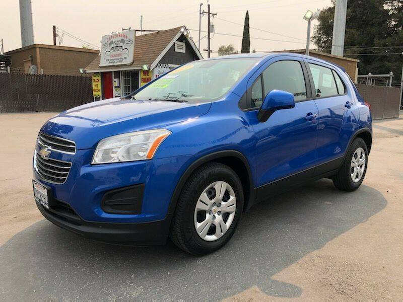 2015 Chevrolet Trax for sale at C J Auto Sales in Riverbank CA