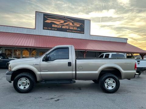 2006 Ford F-350 Super Duty for sale at Ridley Auto Sales, Inc. in White Pine TN