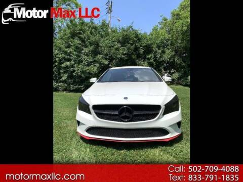 2018 Mercedes-Benz CLA for sale at Motor Max Llc in Louisville KY