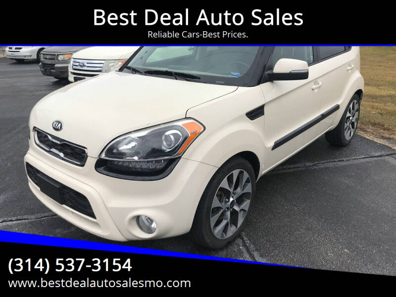 2013 Kia Soul for sale at Best Deal Auto Sales in Saint Charles MO