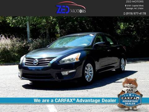 2015 Nissan Altima for sale at Zed Motors in Raleigh NC