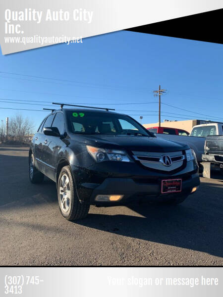 2009 Acura MDX for sale at Quality Auto City Inc. in Laramie WY