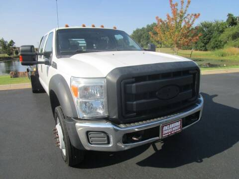 2012 Ford F-550 for sale at Oklahoma Trucks Direct in Norman OK