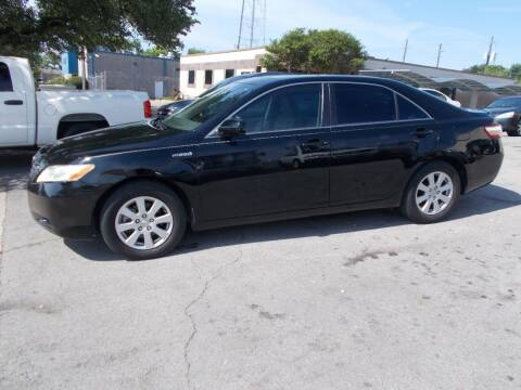 2007 Toyota Camry Hybrid for sale at ACH AutoHaus in Dallas TX