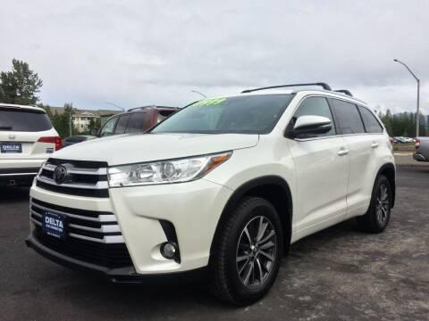 2017 Toyota Highlander for sale at Delta Car Connection LLC in Anchorage AK