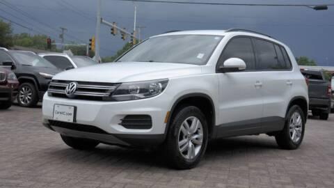 2016 Volkswagen Tiguan for sale at Cars-KC LLC in Overland Park KS