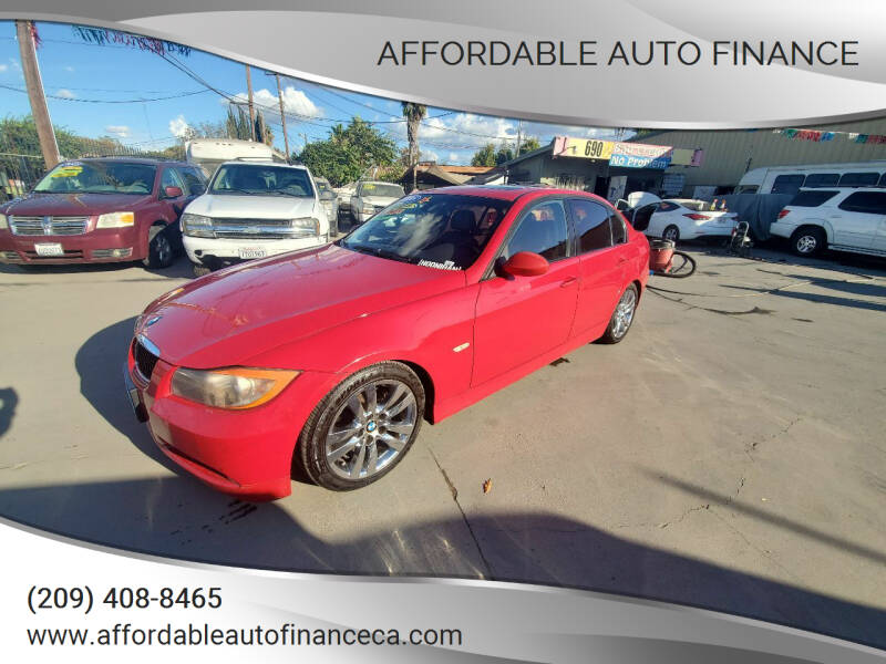 2008 BMW 3 Series for sale at Affordable Auto Finance in Modesto CA