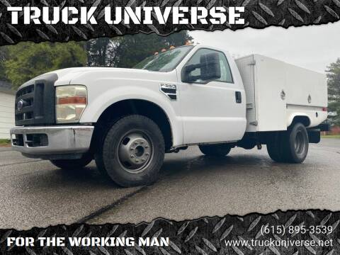 2008 Ford F-350 Super Duty for sale at TRUCK UNIVERSE in Murfreesboro TN
