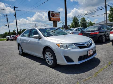 2013 Toyota Camry for sale at Cars 4 Grab in Winchester VA