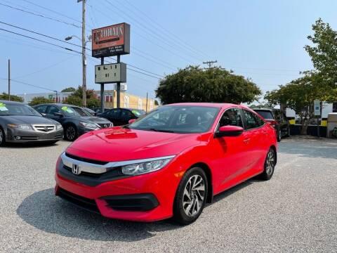 2017 Honda Civic for sale at Autohaus of Greensboro in Greensboro NC
