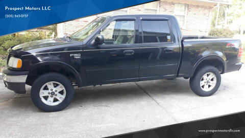 2003 Ford F-150 for sale at Prospect Motors LLC in Adamsville AL