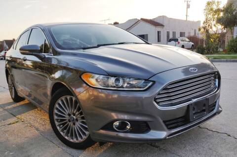 2013 Ford Fusion for sale at Apollo Auto El Monte in El Monte CA
