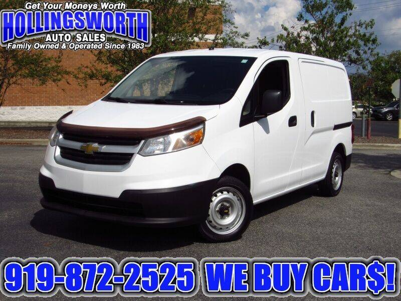 2015 Chevrolet City Express Cargo for sale at Hollingsworth Auto Sales in Raleigh NC