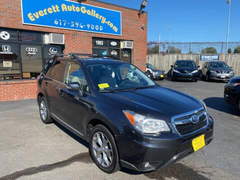 2015 Subaru Forester for sale at Everett Auto Gallery in Everett MA