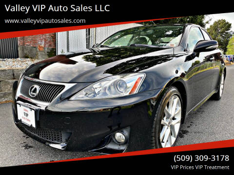 2011 Lexus IS 250 for sale at Valley VIP Auto Sales LLC in Spokane Valley WA
