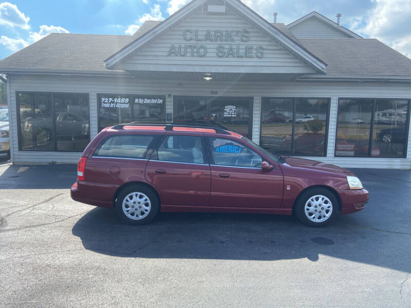 2004 Saturn L300 for sale at Clarks Auto Sales in Middletown OH