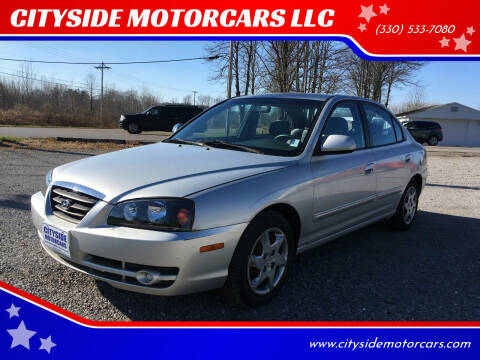 2005 Hyundai Elantra for sale at CITYSIDE MOTORCARS LLC in Canfield OH
