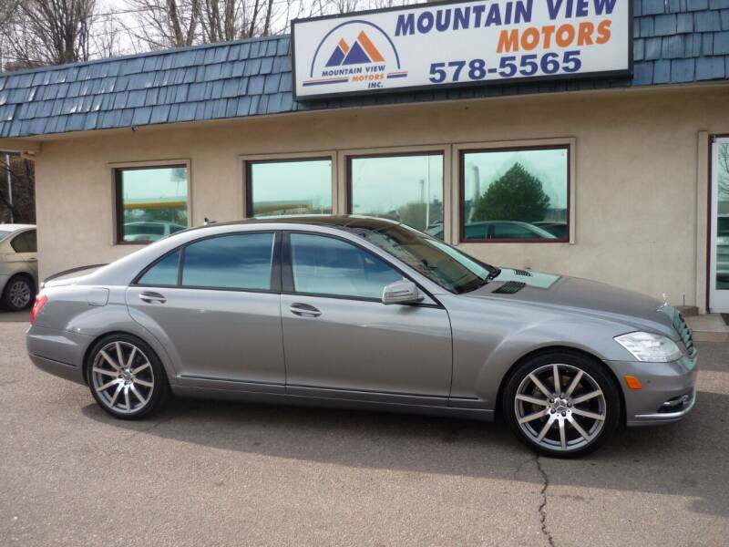 2012 Mercedes-Benz S-Class for sale at Mountain View Motors Inc in Colorado Springs CO