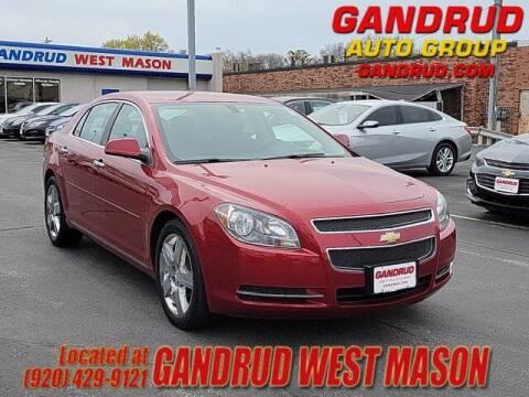 2012 Chevrolet Malibu for sale at GANDRUD CHEVROLET in Green Bay WI