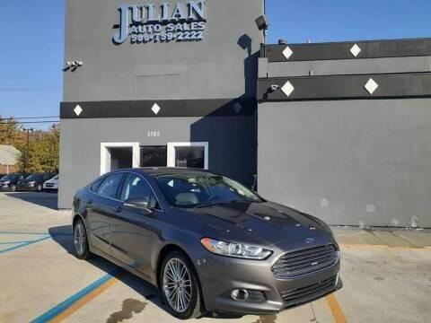 2014 Ford Fusion for sale at Julian Auto Sales, Inc. in Warren MI