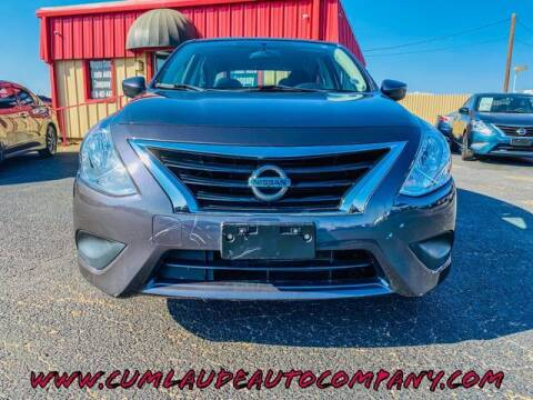 2015 Nissan Versa for sale at MAGNA CUM LAUDE AUTO COMPANY in Lubbock TX