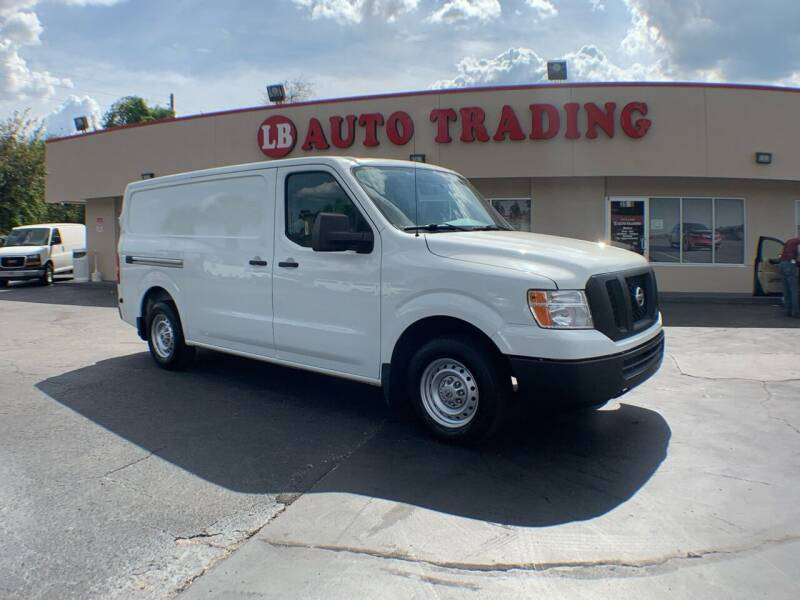2016 Nissan NV Cargo for sale at LB Auto Trading in Orlando FL