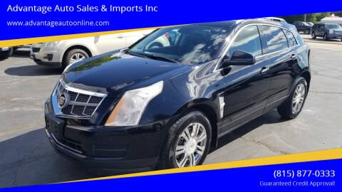 2012 Cadillac SRX for sale at Advantage Auto Sales & Imports Inc in Loves Park IL