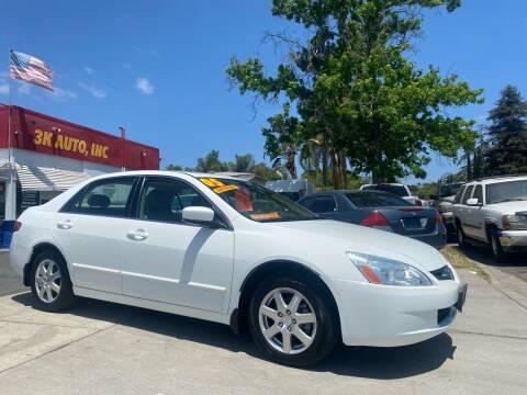 2005 Honda Accord for sale at 3K Auto in Escondido CA