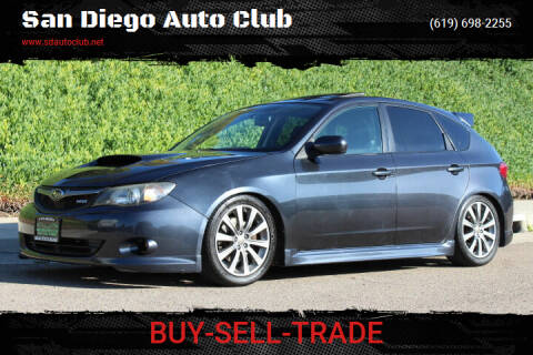 2009 Subaru Impreza for sale at San Diego Auto Club in Spring Valley CA