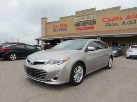 2015 Toyota Avalon for sale at Import Motors in Bethany OK