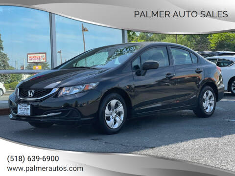 2014 Honda Civic for sale at Palmer Auto Sales in Menands NY