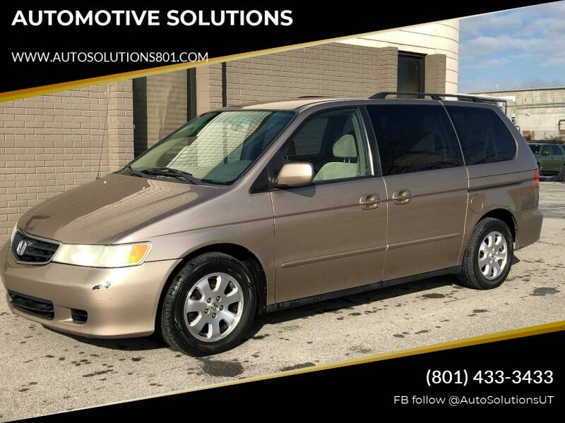 2004 Honda Odyssey for sale at AUTOMOTIVE SOLUTIONS in Salt Lake City UT
