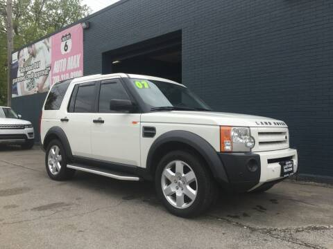 2007 Land Rover LR3 for sale at ROUTE 6 AUTOMAX in Markham IL