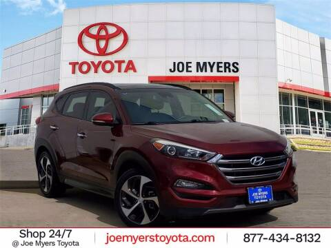 2016 Hyundai Tucson for sale at Joe Myers Toyota PreOwned in Houston TX
