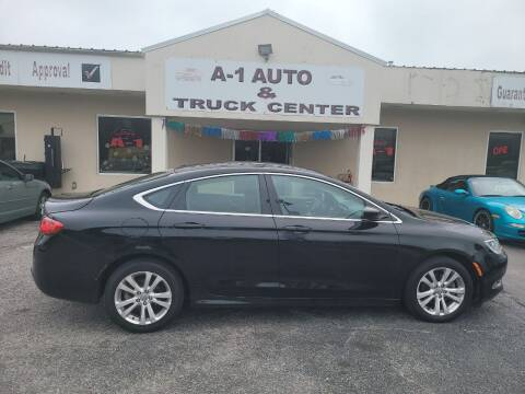 2015 Chrysler 200 for sale at A-1 AUTO AND TRUCK CENTER in Memphis TN