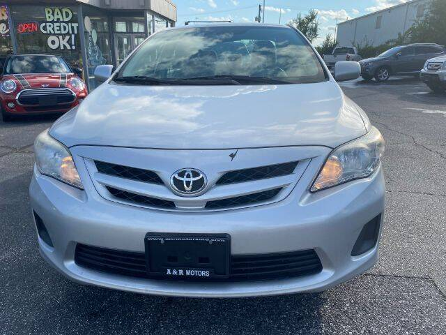 2012 Toyota Corolla for sale at A&R Motors in Baltimore MD