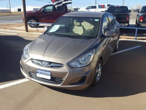 2014 Hyundai Accent for sale at South Plains Autoplex by RANDY BUCHANAN in Lubbock TX