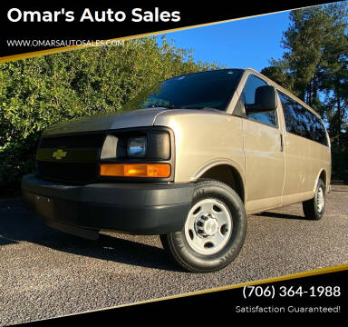2012 Chevrolet Express Passenger for sale at Omar's Auto Sales in Martinez GA