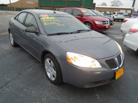 2008 Pontiac G6 for sale at River City Auto Sales in Cottage Hills IL