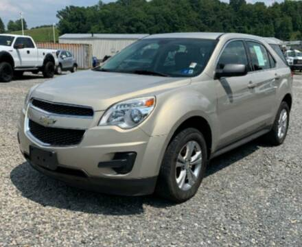 2011 Chevrolet Equinox for sale at BSA Pre-Owned Autos LLC in Hinton WV