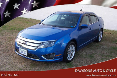 2011 Ford Fusion for sale at Dawsons Auto & Cycle in Glen Burnie MD